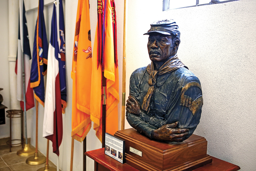 The Buffalo Soldiers National Museum in Houston, Texas, is the nation's headquarters for the sesquicentennial celebration of the famed units created after the Civil War to serve in the Indian Wars. – Courtesy Buffalo Soldiers National Museum –