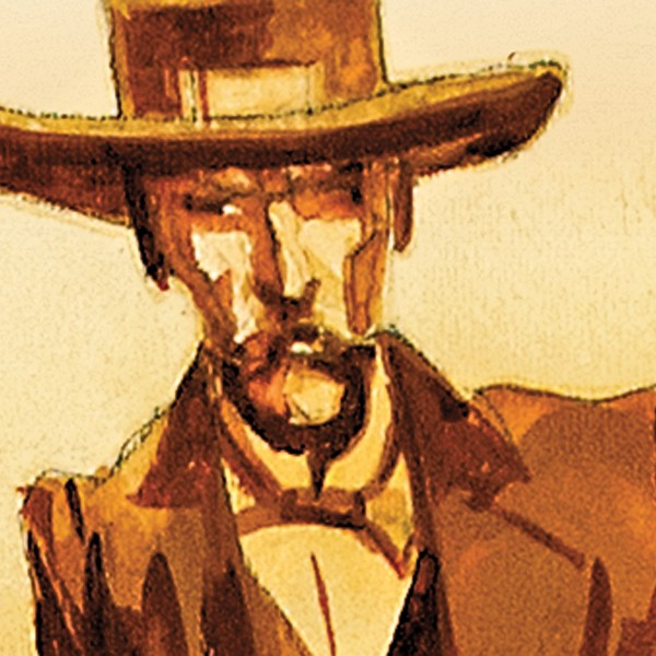 The true man behind the legendary Doc Holliday loomed large in the mind of author Mary Doria Russell, so much so that she followed the lonely dentist into his most famous gunfight.  – Illustrated by Bob Boze Bell