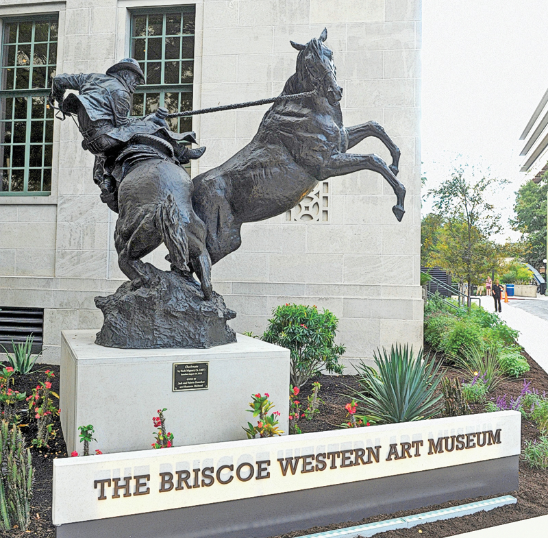 The Briscoe Western Art Museum in San Antonio, Texas, opened with great fanfare in 2013 and has quickly gained an international reputation as one of the finest Western museums in Texas and in the United States. – Courtesy Briscoe Western Art Museum –