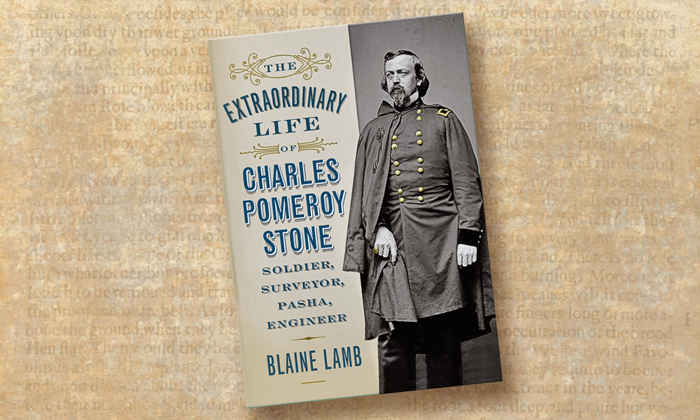 Blaine Lamb's biography The Extraordinary Life of Charles Pomeroy Stone chronicles the life of the inimitable military engineer, including his lifelong friendship with fellow West Pointer President Ulysses S. Grant (center in sun helmet), who visited Karnak, Egypt, in 1878. – Courtesy Library of Congress –