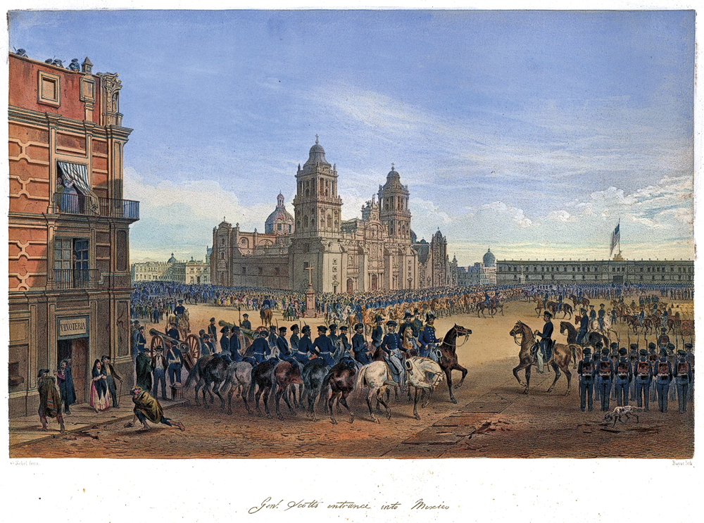 F_Adoption_General-Scott's-entrance-into-Mexico-City-in-the-Mexican-American-War,-drawing-by-Carl-Nebel_scaled