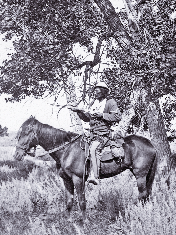 IH_Custers-scout-Bloody-Knife-on-Yellowstone-Expedition-courtesy-Glenn-Swanson-collection_scaled
