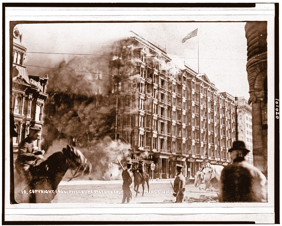 SV_Palace-Hotel-on-fire,-San-Francisco,-California,-during-earthquake-and-fire-of-April-18,-1906_LOC-3c01020u_scaled