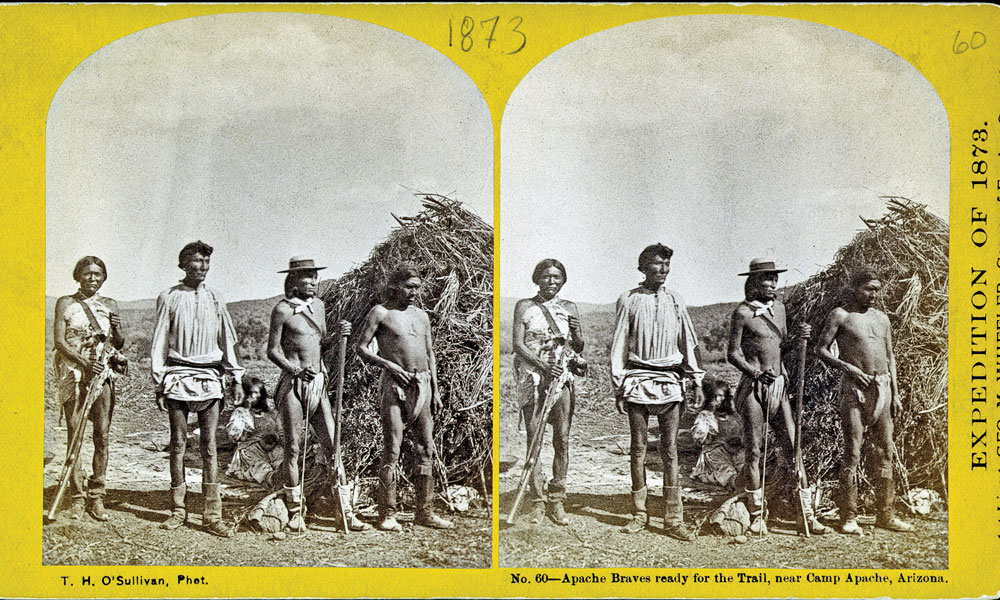 BOW-FA_Apache-braves-ready-for-the-trail,-near-Camp-Apache,-Arizona-by-Timothy-H.-OSullivan_1873