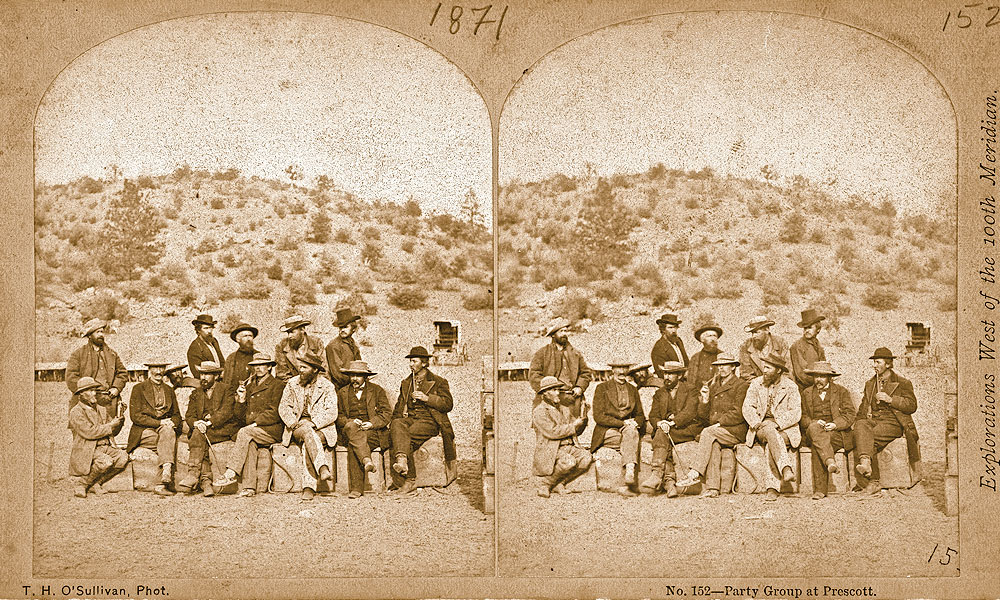 BOW-FA_Wheeler-Expedition_Party-group-at-Prescott-by-Timothy-H.-O'Sullivan_1871