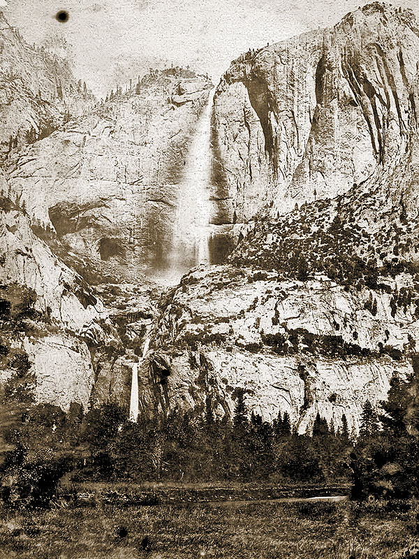 BOW-HT_Yosemite-Falls-from-the-south-bank-of-the-Merced-River-by-Charles-L-Weed
