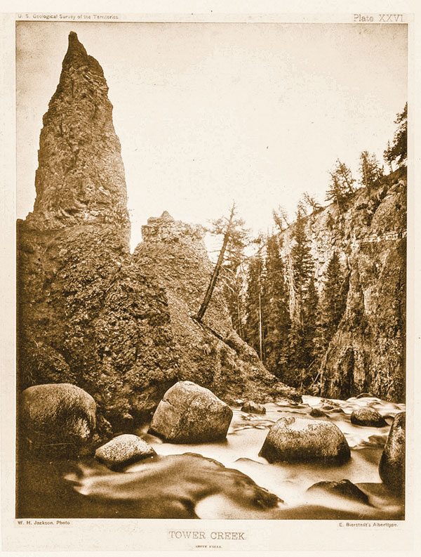 BOW_AC_A-tower-of-breccia-volcanic-rock-near-the-brink-of-Tower-Falls-on-Tower-Creek-William--Henry-Jackson,-Plate-XXVI_scaled