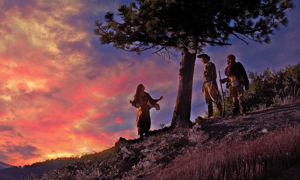 Manifest-Destiny-The-Lewis-&-Clark-Musical-Adventure-sunset-Sacagawea,-Lewis-and-Clark_scaled