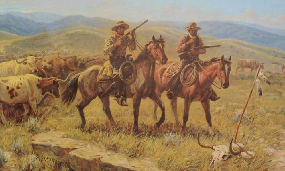 mack-hughes-cowboy-christmas-joe-beeler-artwork-hashknife-true-west-magazine