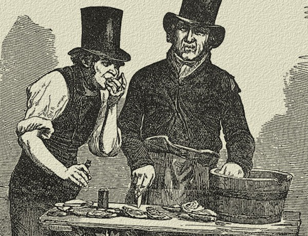 FF_The-Oyster-Stall-illustration-from-a-daguerreotype-by-Beard