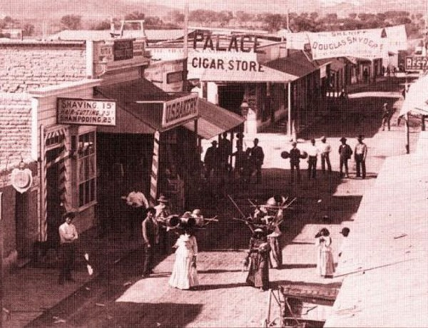 Congress Street Tucson, Arizona, 1887.