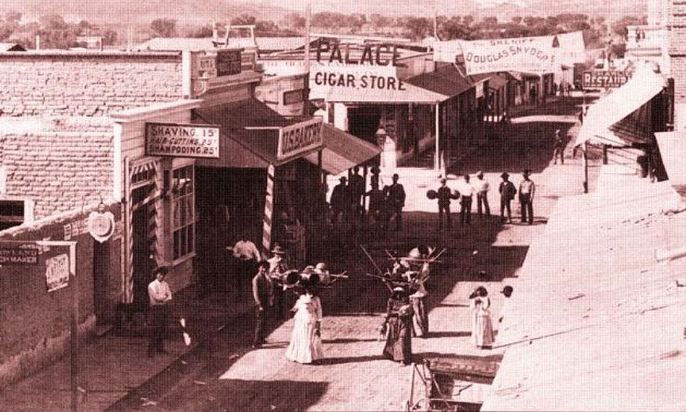 Congress Street Tucson, Arizona, 1887.