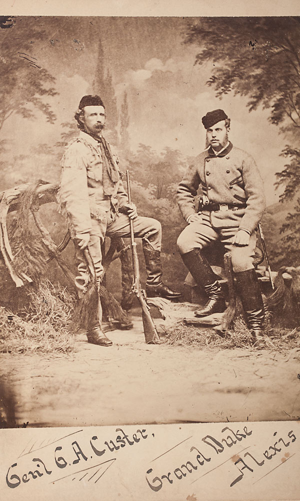 ctw_George-A.-Custer-stands-next-to-Russian-Grand-Duke-Alexis