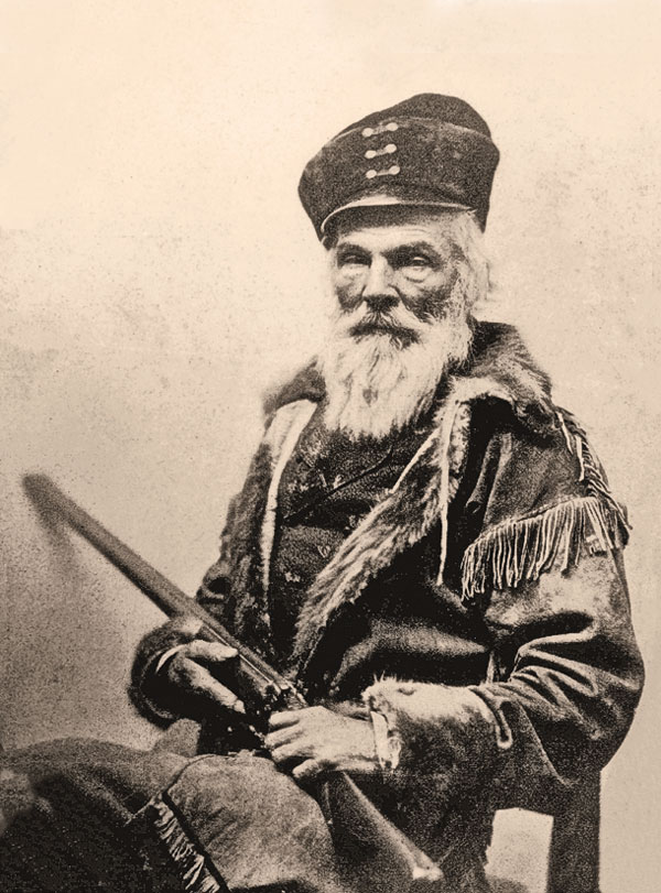 Even in his 60s, when Joseph Rutherford Walker was photographed by Mathew Brady, circa 1860, the Mountain Man still had plenty of adventure left in him.