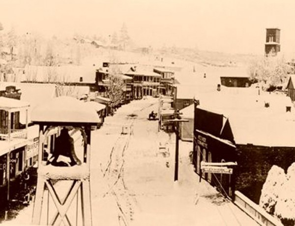 Dry Diggins, Hangtown Gold Camp 1860s