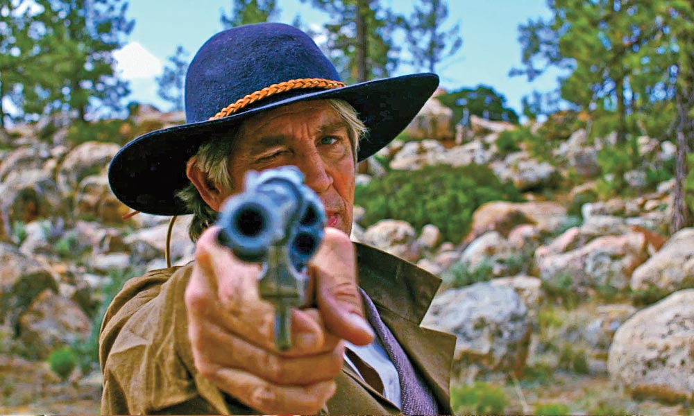 Eric Roberts (above) paved the path for excellence in director and star Orson Ossman's The Gunfighter. The plot focuses on a Pinkerton detective's chase across open country for an outlaw who has killed a marshal and stolen his identity. – Courtesy Cardinal XD –