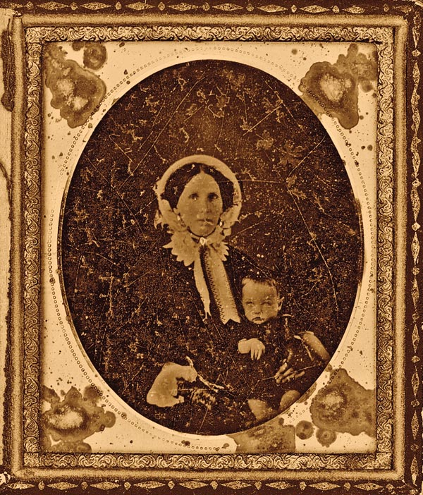 John Henry Holliday and his mother, Alice, circa 1852. – Gary Roberts photo Courtesy National Museum of the American Indian; Holliday photo true west archives; Wyatt Earp photo courtesy Warner bros. –