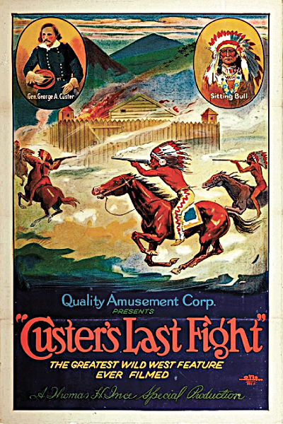 custer's last fight poster
