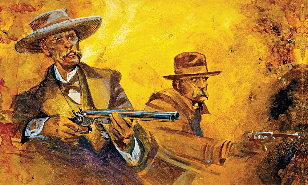 Doc Holliday and Wyatt Earp became fast friends, which puzzled some of Earp's pals, especially Bat Masterson, who objected to Holliday's sometimes appalling behavior. – All photos True West archives/Illustrations by Bob Boze Bell –