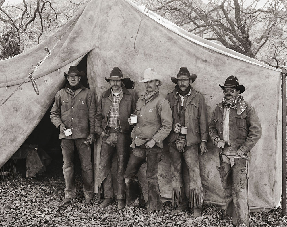 ORO cowboys photographed by Jay Dusard