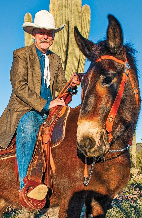 bob boze bell bishop mule days true west