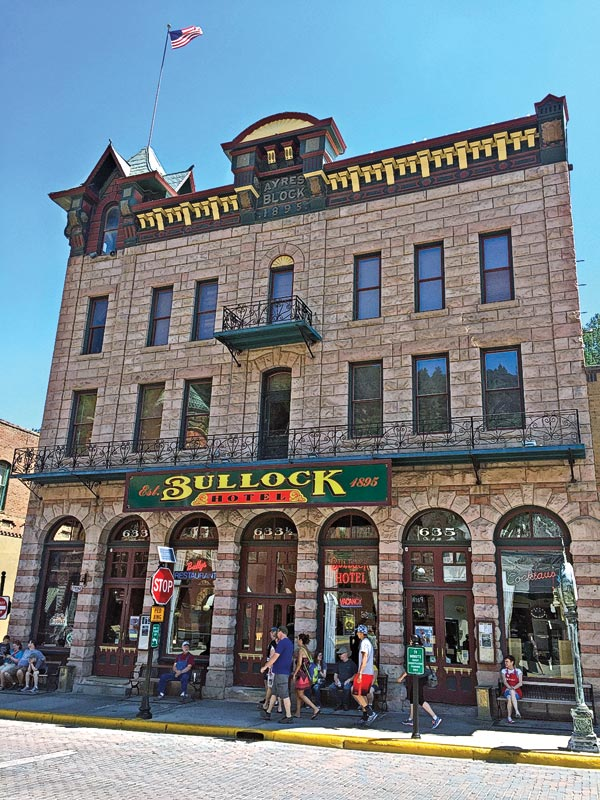 Bullock hotel black hills deadwood south dakota true west