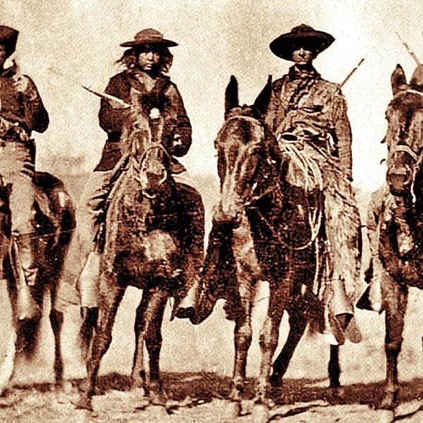 Custer's Scout True west