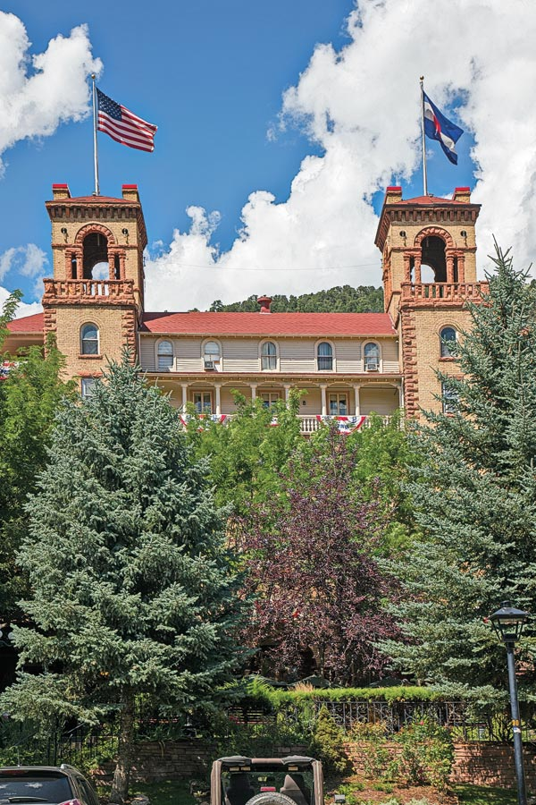 hotel colorado glenwood springs colorado true west