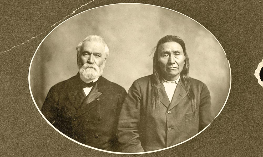chief joseph thunder in the mountains