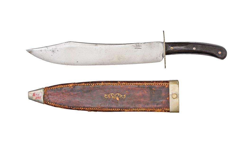 bowie knife true west
