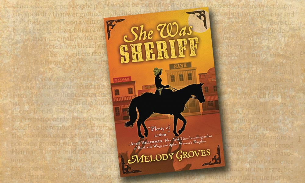 She was sheriff melody groves